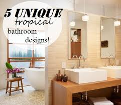 tropical bathroom ideas tropical bathroom ideas 10 astonishing tropical bathroom ideas