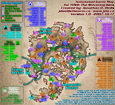 Map Of Nirn The Elder Scrolls Iv The Shivering Isles World Map S I