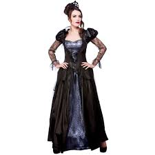 ladies halloween gothic scary sorceress enchant witch fancy