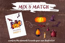 spooky halloween clipart spooky halloween clipart by astartejulia thehungryjpeg com