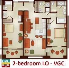grand californian suites floor plan the villas at disney s grand californian hotel spa dvcinfo