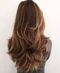 hair styles cut hair in layers and make curls or flicks long layered haircut for thick hair hair pinterest long