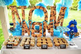 cookie monster party via kara u0027s party ideas karaspartyideas com