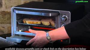 Toaster Oven Broil Cuisinart Tob 40 Custom Classic Toaster Oven Broiler Youtube