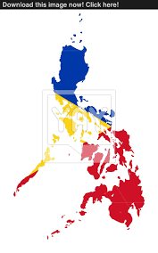Philippines Flag Philippines Flag On Map Image Yayimages Com