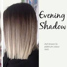 platinum blonde and dark brown highlights ash brown to platinum colour melt hair pinterest ash brown