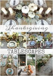 thanksgiving tablescapes house of hargrove