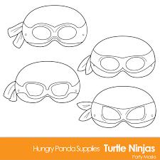 turtle printable coloring masks turtle mask turtles ninjas and