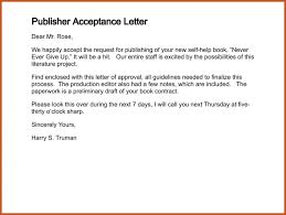 publishing cover letter example