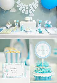 baby birthday ideas real balloons themed birthday hostess with the mostess