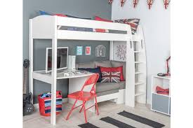 High Sleeper Bed With Futon Cool Idea Childrens Bunk Beds With Desk And Futon High Sleeper Bed