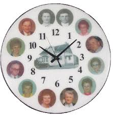 personalized clocks with pictures classic custom clocks