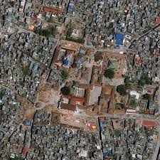 satellite maps 2015 this satellite based map shows the before and after of the nepal