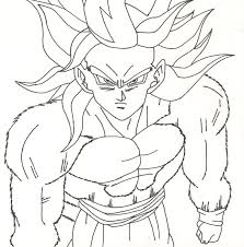goku super saiyan 4 free coloring pages on art coloring pages