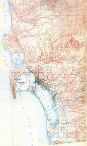 Sd Map Historical Maps Of San Diego