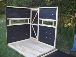 5x6 two person seater deer blind