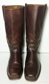 boots coupon code frye vintage brown leather motorcycle cavalry