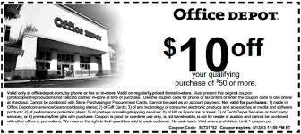 office depot coupons november 2014 office depot printable coupon to save 10 off out of 50 or more