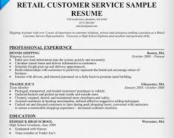 exle resume for retail customer service resumes fungram co