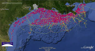 Google Map Of Mexico by Gulf Of Mexico U2013 Deepwater Development U2013 Skytruth