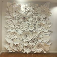sculptures home decor 3d paper flower wonder wall collection and sculptures art people