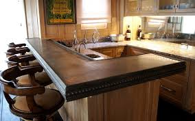 interior modern kitchen countertops with artisan stone collection