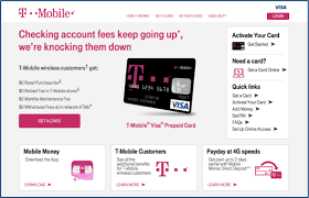 prepaid business debit card what are the benefits of the t mobile prepaid visa card