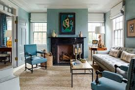 the right paint color can visually declutter a space or help you