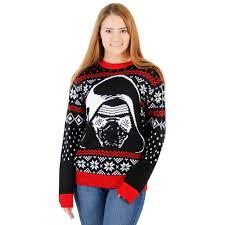 sweater wars s wars the awakens kylo ren sweater