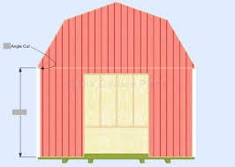 how to cut angles in front corners of hair gambrel barn shed plans front back corner trim shed plans
