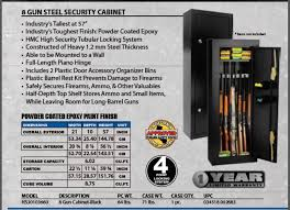 Gun Security Cabinet Homak Gun Cabinet