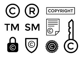 copyright symbol vector download free vector art stock graphics