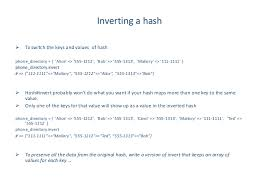 ruby hash map ruby s arrays and hashes with exles