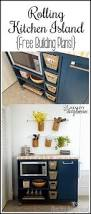rolling kitchen island and pantry storage kitchen island storage