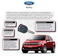 Ford Escape Warning Lights - ford introduces mykey cartype