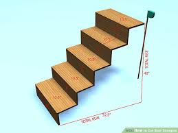 how to cut stair stringers 8 steps with pictures wikihow