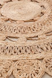 Round Jute Rug 7 Lakho Woven Jute Round Rug Urban Outfitters