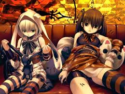 halloween anime backgrounds emo gothic anime wallpaper mobile compatible emo gothic anime