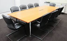 Vitra Boardroom Table Vitra Medamorph Teak Designer Boardroom Conference Table 10 X