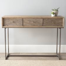 Metal Console Table Contemporary Wood And Metal Console Table Console Table Wood
