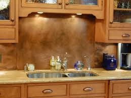 Traditional Kitchen Backsplash Copper Backsplashes Brooks Custom