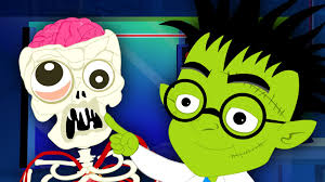 Halloween Cartoon Monsters by Make A Monster Original Nursery Rhymes Kids Songs Scary
