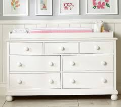dresser with removable changing table top catalina extra wide dresser topper set pottery barn kids