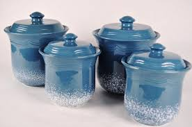 kitchen canisters blue ceramic kitchen canisters umpquavalleyquilters canisters