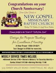 customizable design templates for church anniversary postermywall