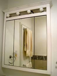 triple mirror bathroom cabinet bathroom replacement mirror glass for medicine cabinet mirrored