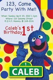 super grover birthday invitation super grover birthday