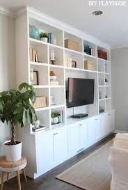 Built In Shelves Living Room Best 25 Living Room Built Ins Ideas On Pinterest Built In