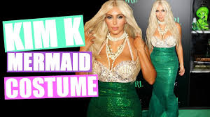 Halloween Costumes Kim Kardashian Mermaid Halloween Costume Diy Halloween Costume