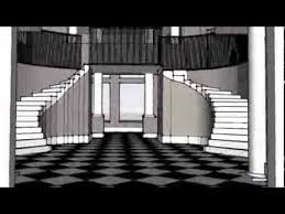 kim kardashian house floor plan jenner kardashian house tour on sketchup youtube